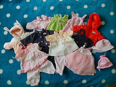 Baby Annabell Clothes & Accessories 15 pieces