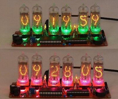 Nixie Clock Kit For IN-8-2 Nixie Tubes.  Tubes AREN'T Included