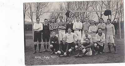 RP Rhyl Rugby Team, Feb 20th 1913.by Wills Jones.