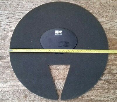 Drum and cymbal muting practise pads