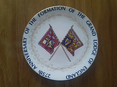 275th Anniversary of the Formation of the Masonic Grand Lodge Ltd Edition Plate