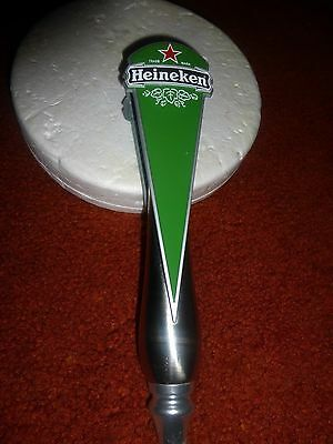 "Rare Vintage "" Heineken "" Beer Tap Handle!  Must See!"