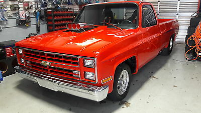 1987 Chevrolet C-10  chevrolet 1987 pro steet truck log bed.open to trades.
