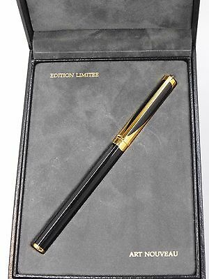 Dupont Art Nouveau Fountain Pen --  Limited Edition Year 1.993 -- New In Box