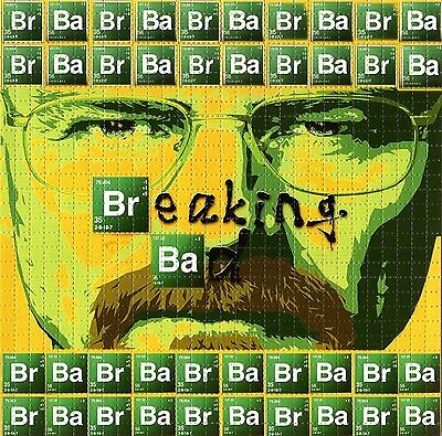 Breaking Bad Blotter Art Psychedelic Perforated Print Acid Lsd Free Hofmann 900