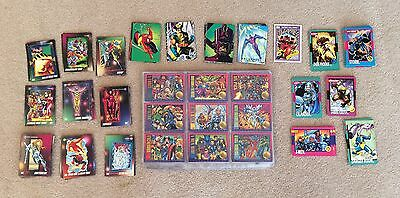 Marvel & X-Men Impel Sky Box Trading Cards (260+) Inc Rare Silver Surfer Prism