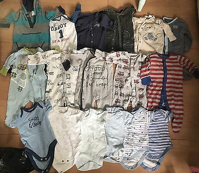 Baby Bundle Boys Clothes 0-3 Months