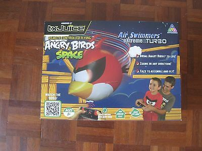Air Swimmers Angry Birds Turbo Remote Control Flying Balloon Toy New