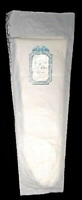 Christian Dior White Suede Kid Leather Dress Gloves ~ Size 6 1/2 ~ N.W.T.