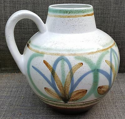 Large Vintage Cinque Ports Pottery Decanter By David Sharp