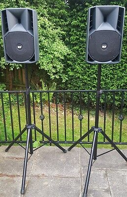 RCF art 710a (pair)  PA speakers (DJ Band Vocal)