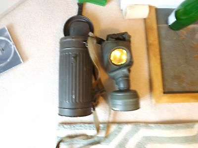 WW2 German Wehrmacht Gas Mask with Gas Mask case and straps