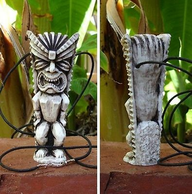 Scrubs Tiki Necklace JD & Turk My Soul On Fire from original prop mold 2 TIKIS!
