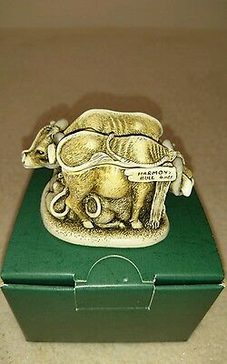 "Harmony Kingdom treasure jest ""Harmony Bull"" excellent condition limited edition"