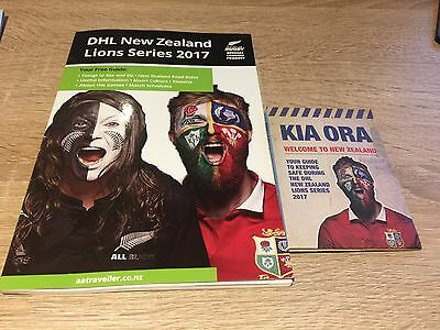 DHL  NEW ZEALAND British & Irish Lions SERIES 2017- FREE GUIDE & SMALL GUIDE