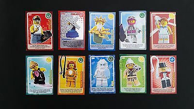 Sainsburys Lego Create the World Trading Cards - ***CHOOSE YOUR CARDS***