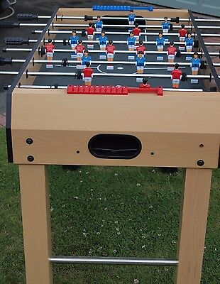 Leisure Table Football Game 4ft Beech