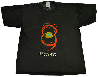 Pearl Jam Binaural 2000 Concert T-Shirt S M Band USA Tour Grunge Rock