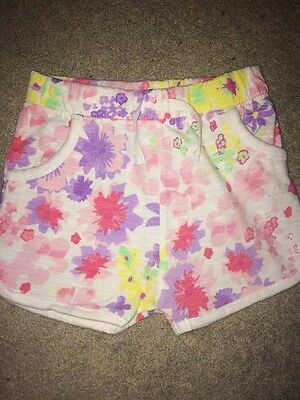 12-18 Month Girls Shorts