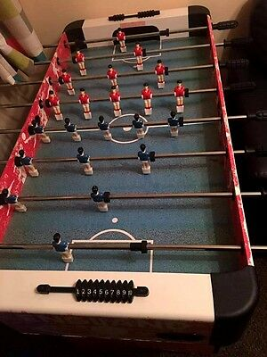Hy-Pro Retro Style Table Football Game (Well Loved) 2003 - 2010 Collection Only