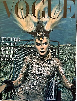 VOGUE ITALIA 2008 september Future couture Daphne Guinness Steven Klein