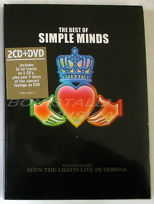 SIMPLE MINDS - THE BEST OF - 2 CD + DVD Sigillato