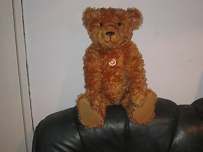 Large Steiff Bear Red/brown  Mohair . Growler  , Limited Ed Ean 037054 23 Inches