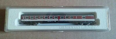Marklin Z Scale 8723 Burgundy Speisewagen 2nd Class Passenger Dining Car