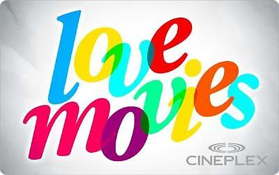 Cineplex Cinema $16.64 Voucher for only $15.64 dollars!! Free Shipping!
