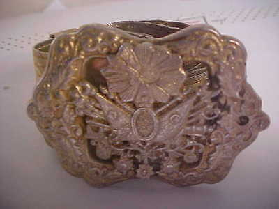 Antique Ottoman Silver Belt & Buckle. Tughra & .900 Silver Marks 37.5in.