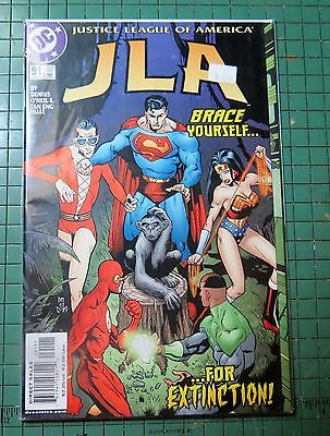 Justice League of America DC Modern Age Comic CB0091