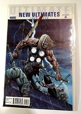 Ultimate New Ultimates Issue 4 Marvel modern Age Comic CB1142