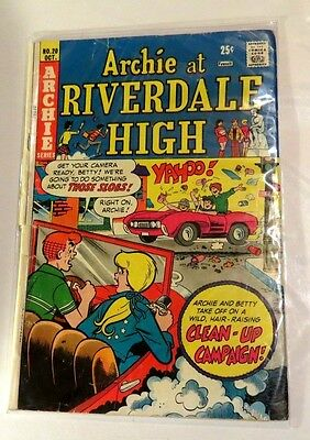 Archie at Riverdale high #20 Archie series Bronze Age CB1635