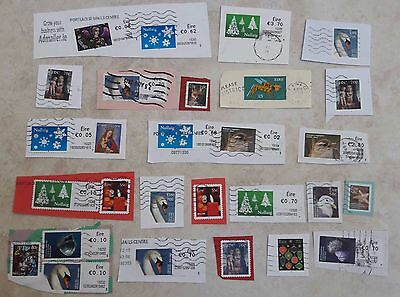 Eire Collection 28 Used Irish Stamps from Ireland