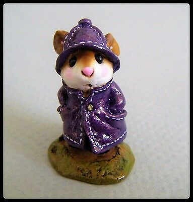 Wee Forest Folk April Showers (1 of 48) - M-180 - *Special from Mouse Expo*