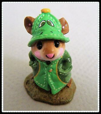 Wee Forest Folk April Showers (turtle) NEW in Bag! M-180 *Special Folktoberfest*