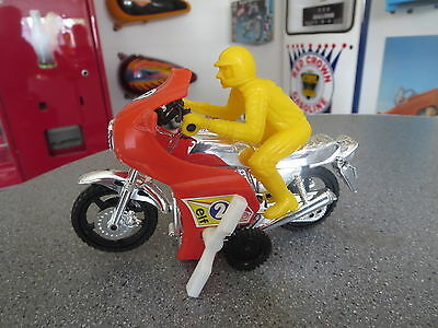 Ace-Toys Cafe Racer Motorcycle Wind Up  Super Cycle Toy In Box Hong Kong