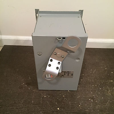 ITE BOS14351, 30 amp, 600 volt, bus plug, 3 phase. Buss plug, 3 wire, Very Clean