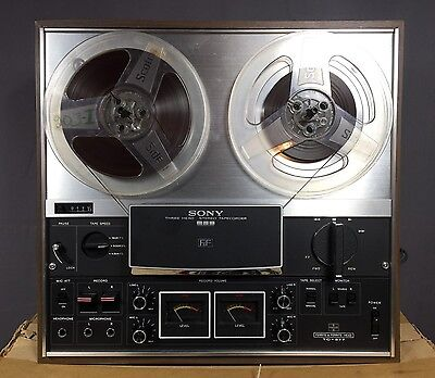 Vintage Sony TC 377 Reel to Reel Tape Player Deck Recorder Just Serviced!!