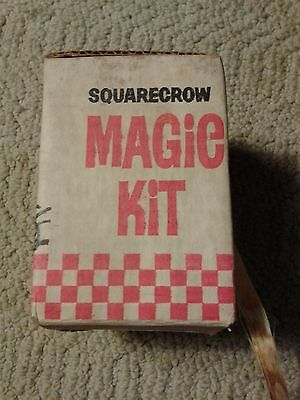 Vintage Magic Kit Checkerboard Scarecrow Chex Cereal Promotion