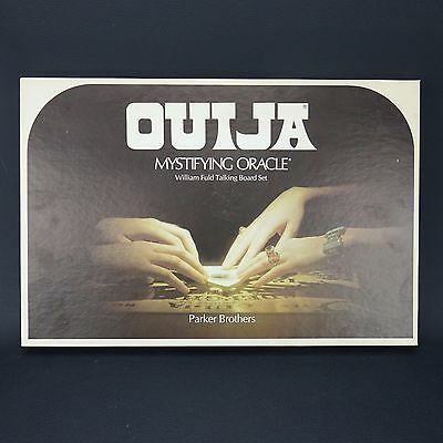 OUIJA MYSTIFYING ORACLE William Fuld Talking Board Game * Parker Brothers