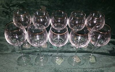 21 Lenox ETERNAL Crystal - NEW W TAGS Wine, Goblets &  Champagne Glasses!!