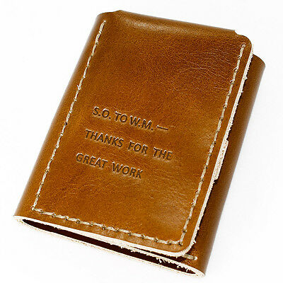 The Secret Life of Walter Mitty Handmade Vegetable Tanned Leather Men's Wallet