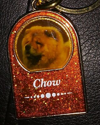 Chow Chow Dog Key Chain Fob