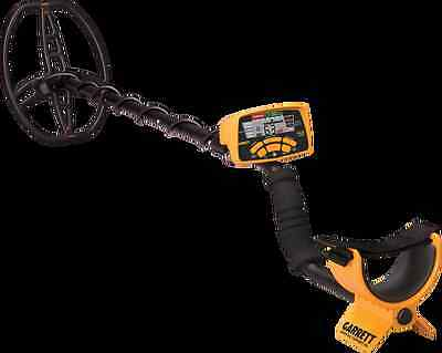 Garrett Ace 400i Metal Detector, includes Headphones, Cover and coil cover.