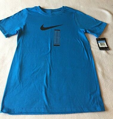 Boy's Size Medium - Nike Short Sleeve T-Shirt - Blue - NWT Free Shipping!
