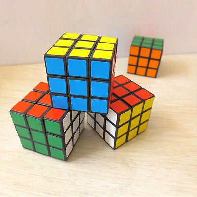 2017 New 3x3x3cm Twist Puzzle Magic Cube Rubik Classic Rubix Toy Game For Kids