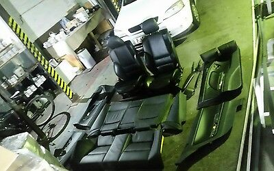 Genuine Mint Black Leather M Sport Interior Seats For BMW E46 3 Series Coupe