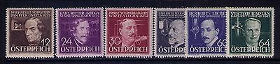 Austria Semi-Postal Stamps, SC# B141-51 Cpl. MLH Set Cat.$17