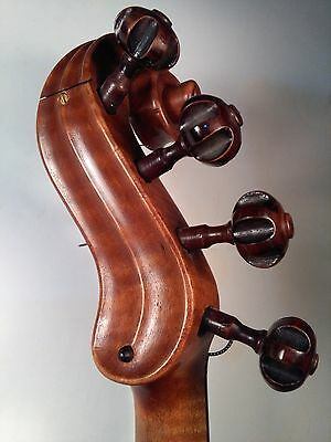 Very Rare Old Antique Violin - by Georges Chanot, 1856